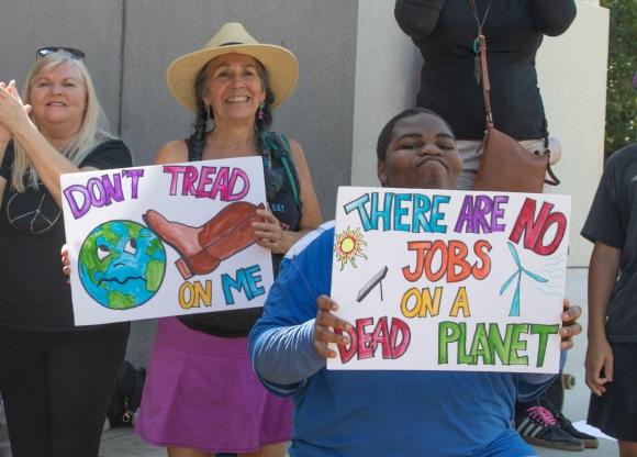 Climate Strike Austin - © Heather Valey 2019