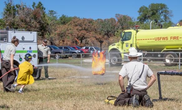 Jr. Firefighter Practice